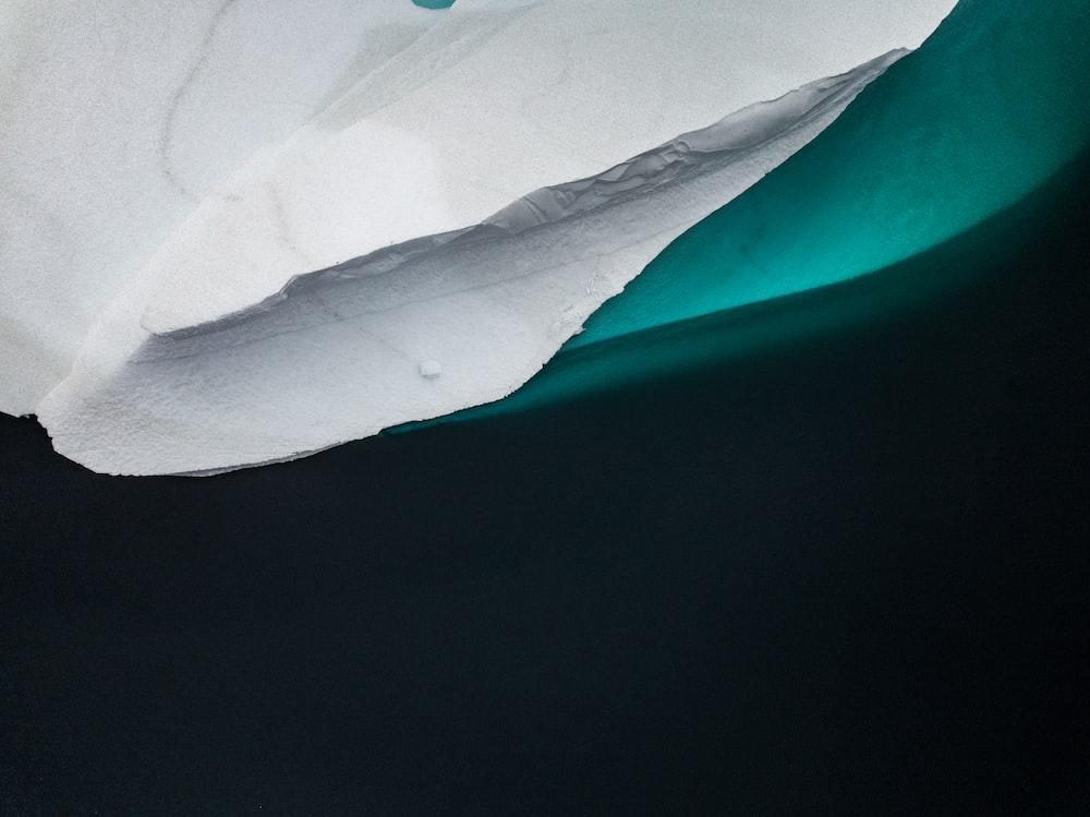 blue and white digital wallpaper