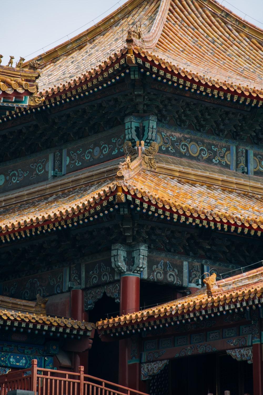 brown pagoda temple