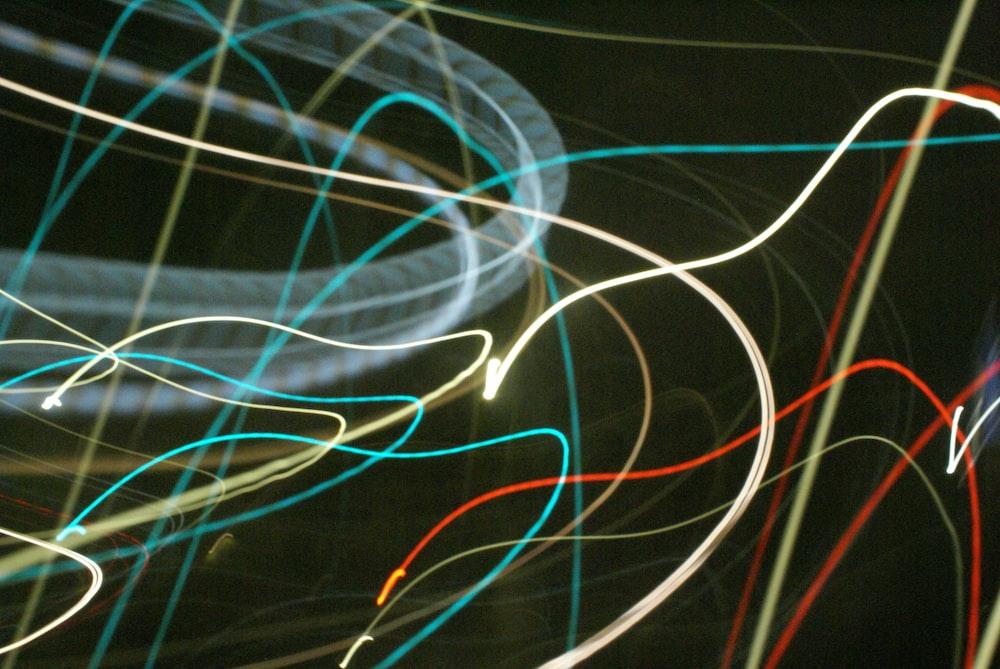 assorted-color lights vector art