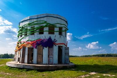 Famous Rotunda in the Nikola Lenivets art park