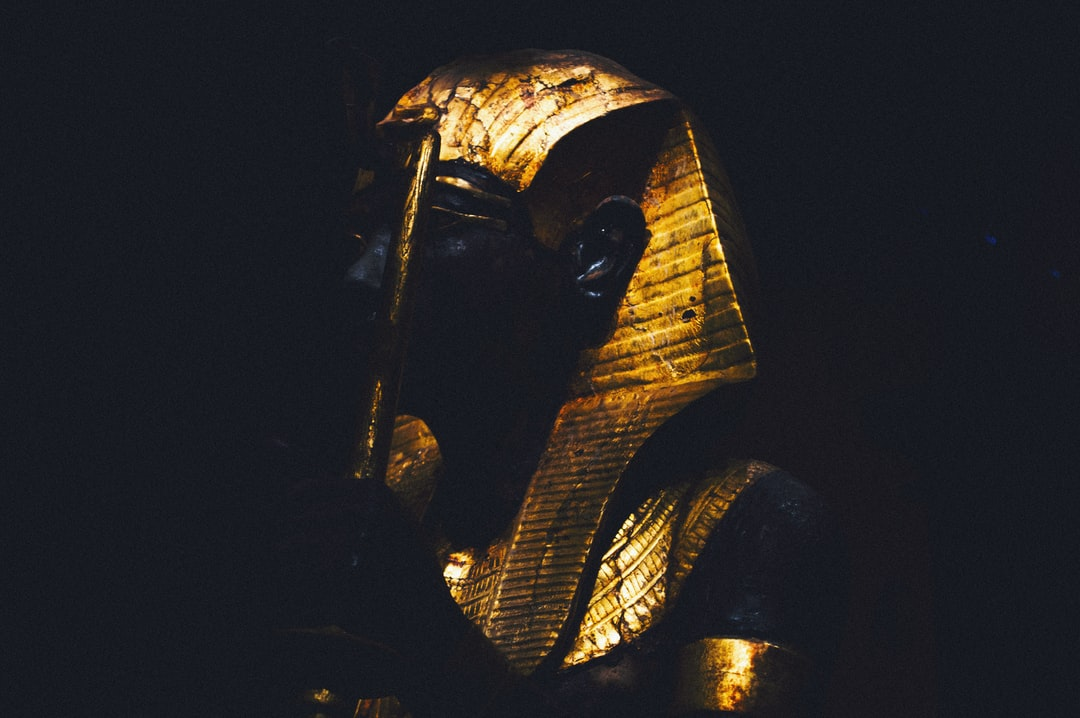 Toutankhamon's Gardian in paris shoot and edited by val.ccrn