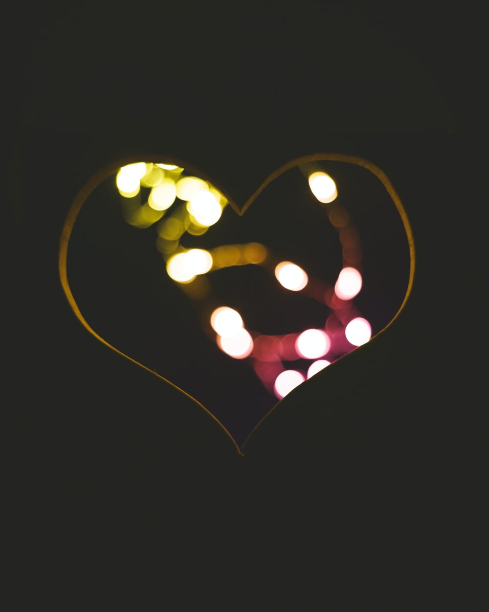 Black Heart Wallpaper Photo Free Light Image On Unsplash