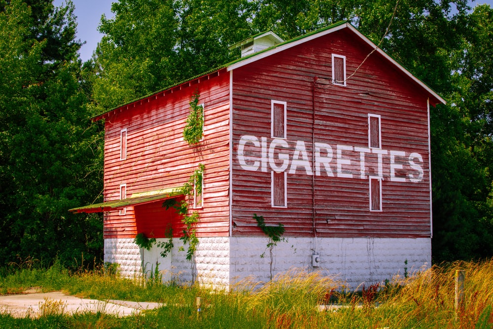 cigarettes house