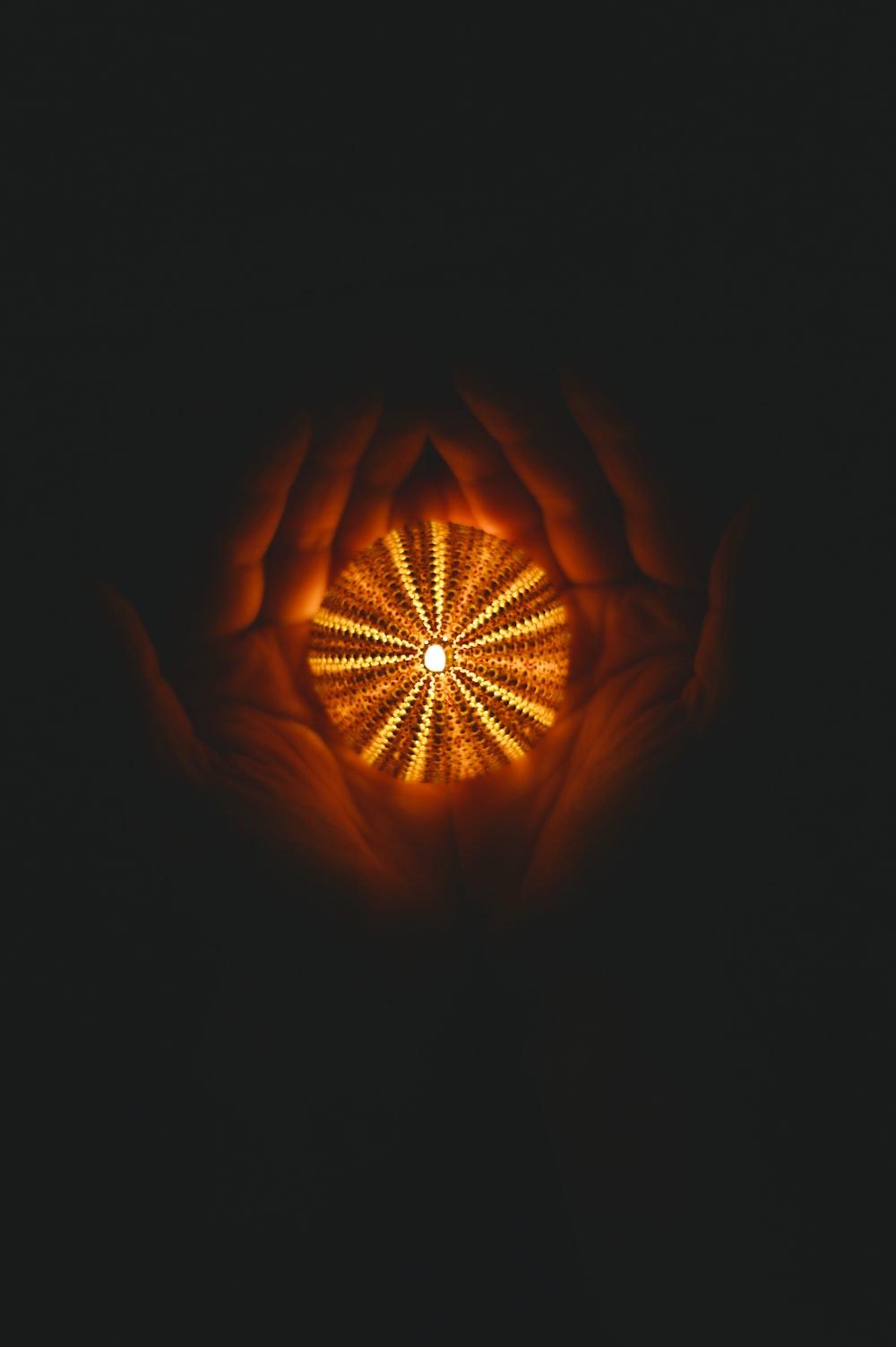 round yellow ball