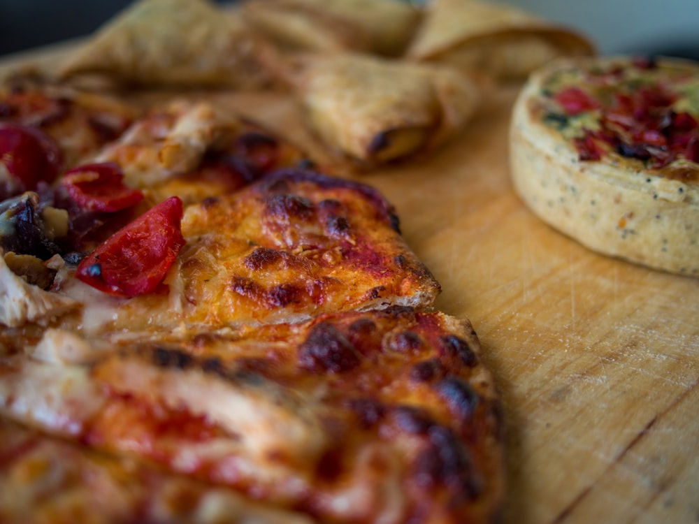 baked pizza pie