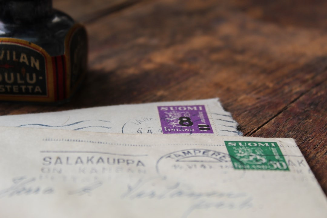Old finnish stamps