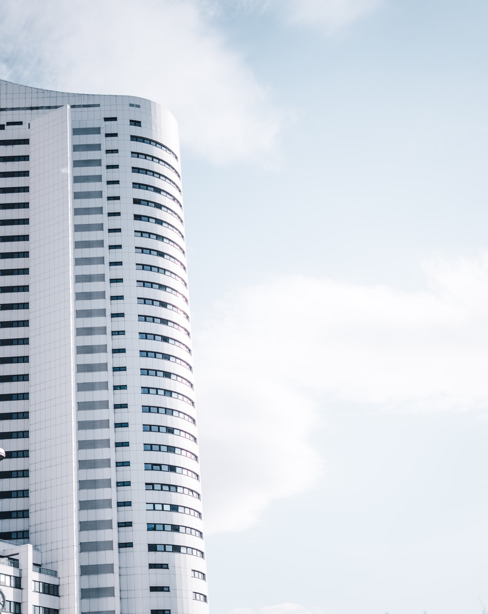 gray high-rise building during day