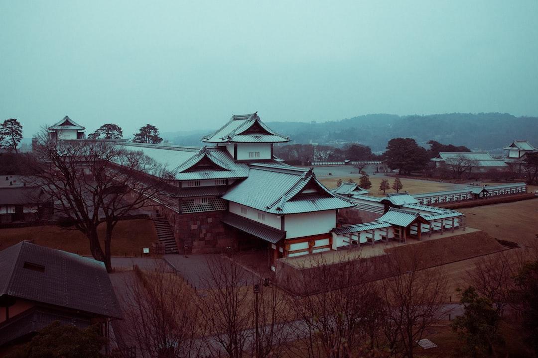 Castle in Kanazawa, Japan