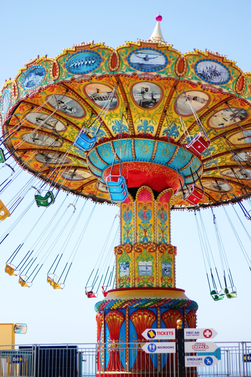 Marry Go Round ride at daytime