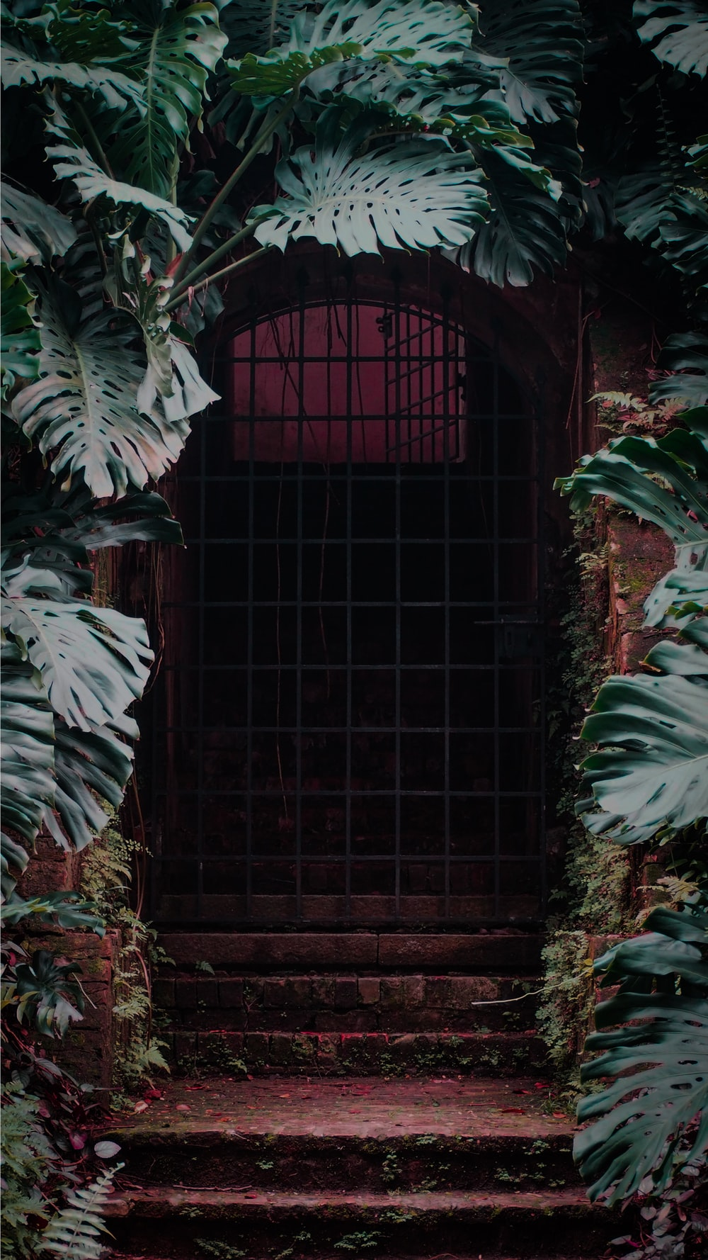 brown gate
