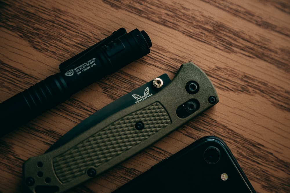 gray pocketknife