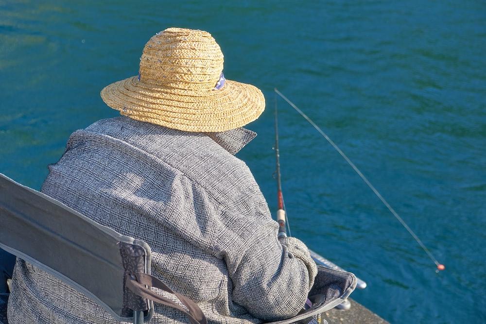 person fishing during daytime