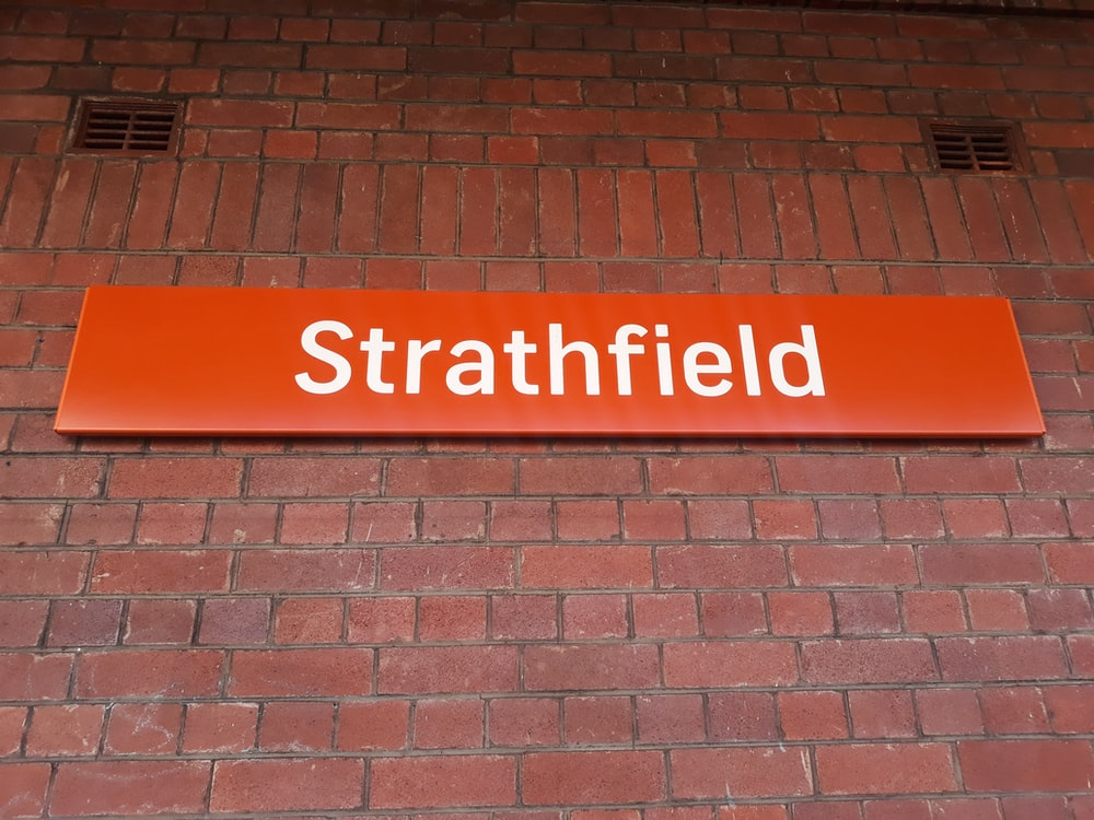 orange strathfield signage