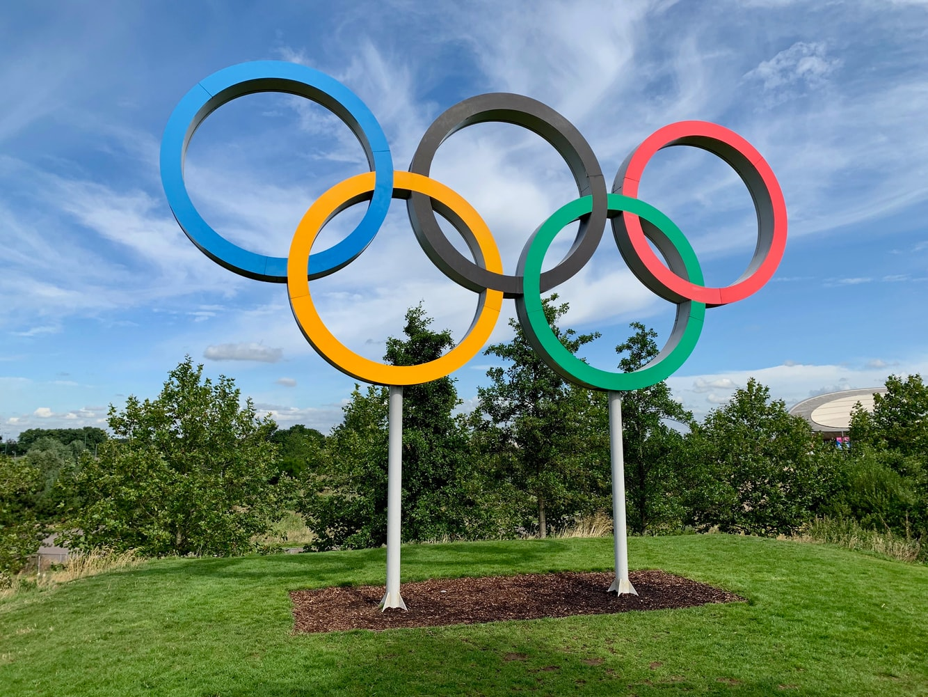 olympic rings teams background