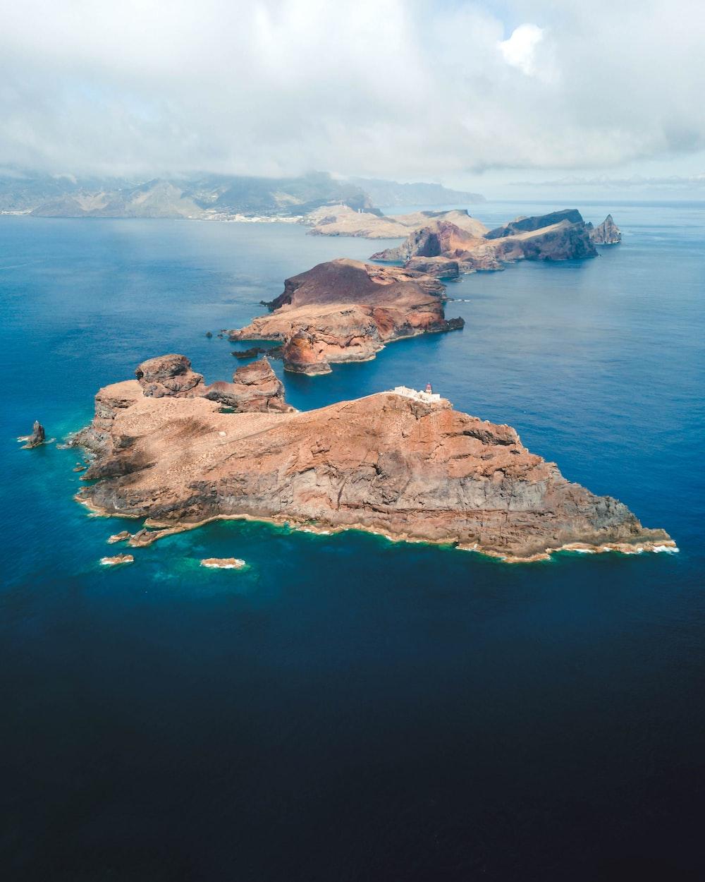 brown island during daytime