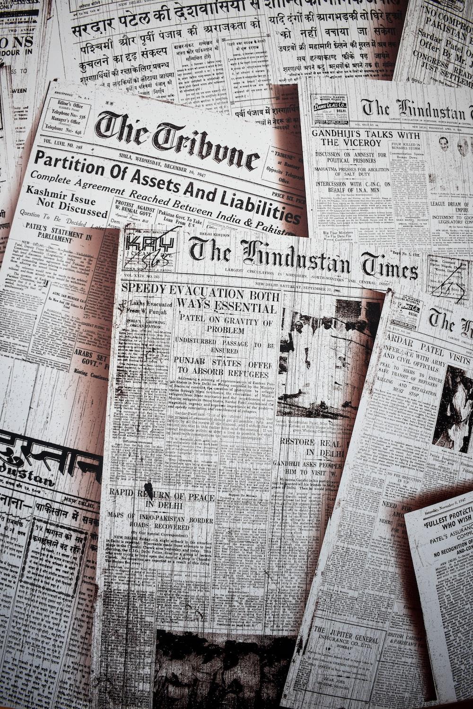 newspaper article lot