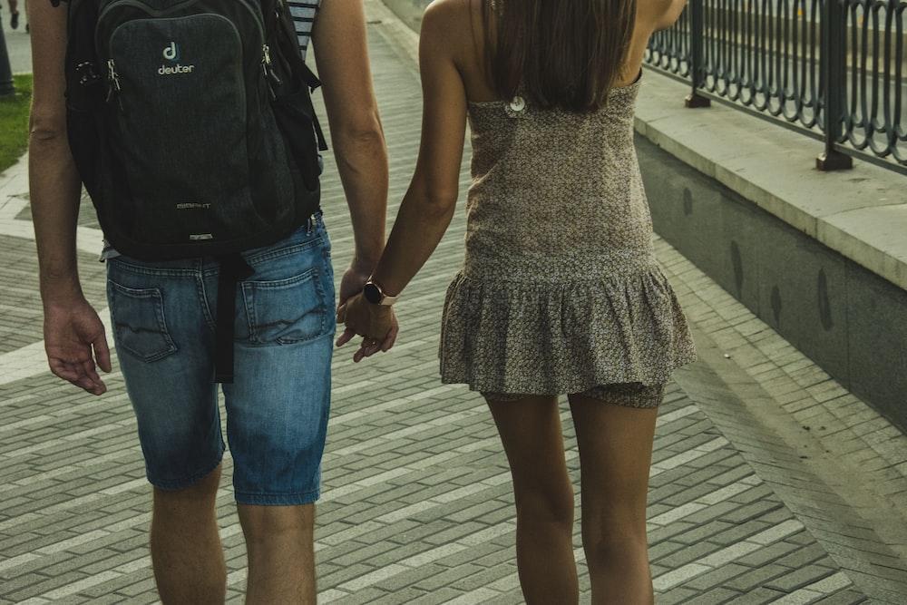 women's brown strapless mini dress