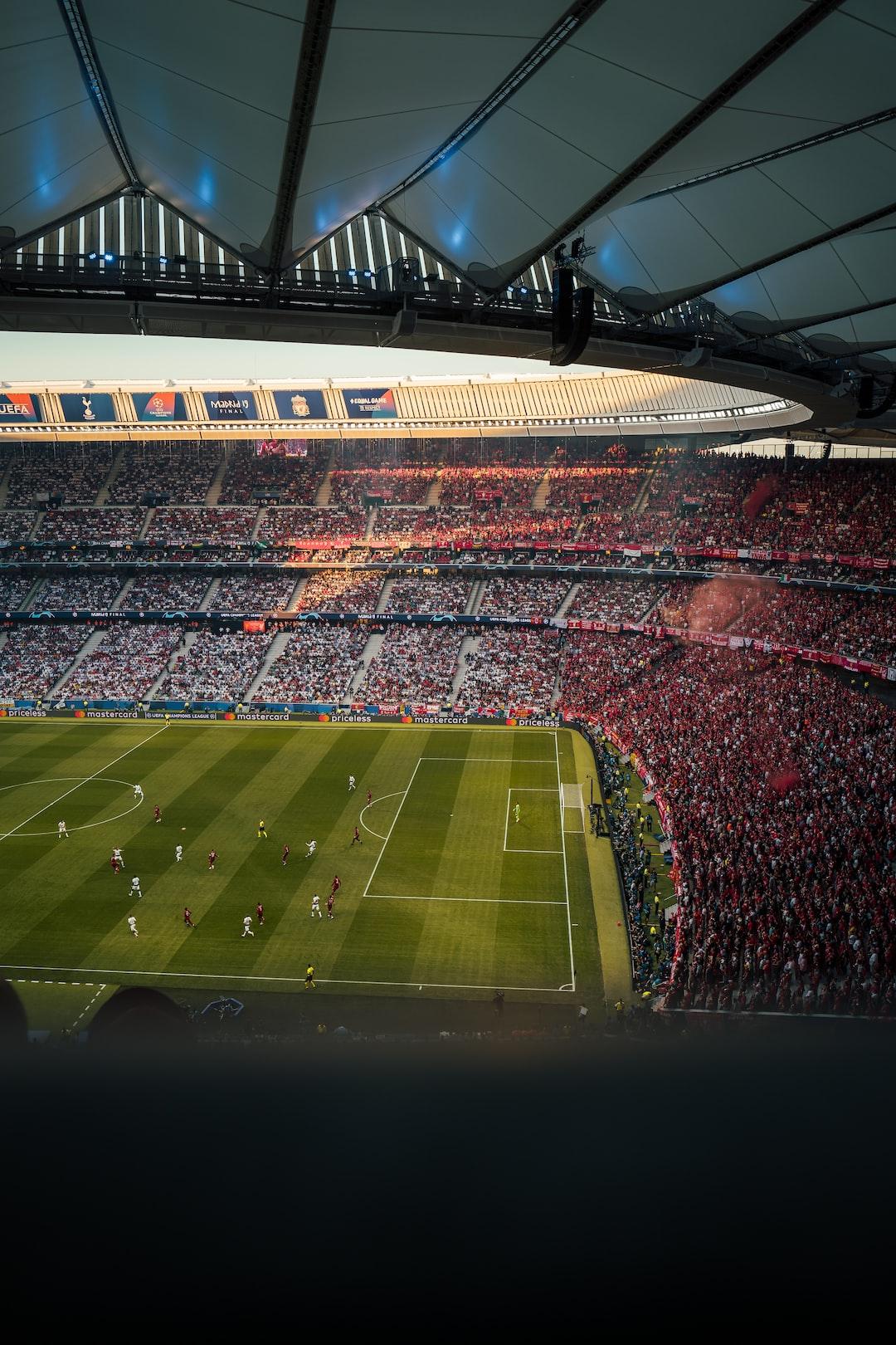 Champions League final at the Wanda Metropolitano in Madrid