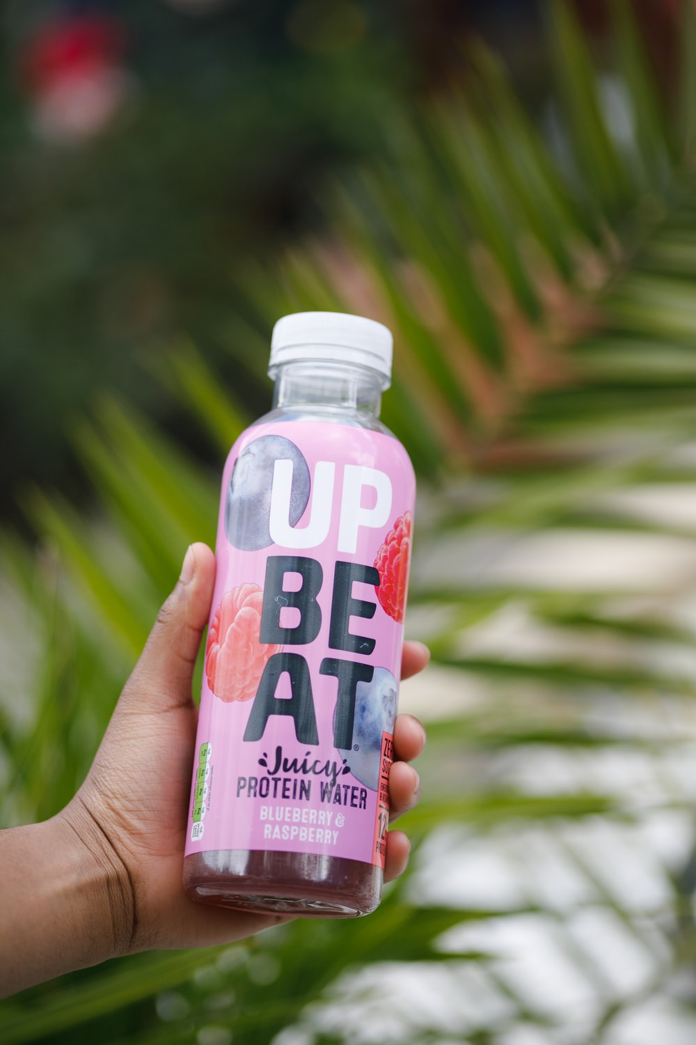 Up Beat protein water bottle