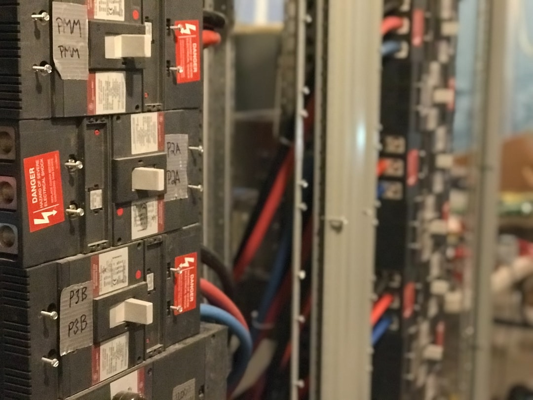 Multiple Breakers in Electrical Switchgear Equipment and Wires