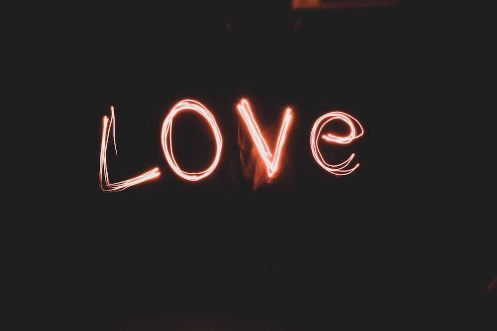 love text illustration