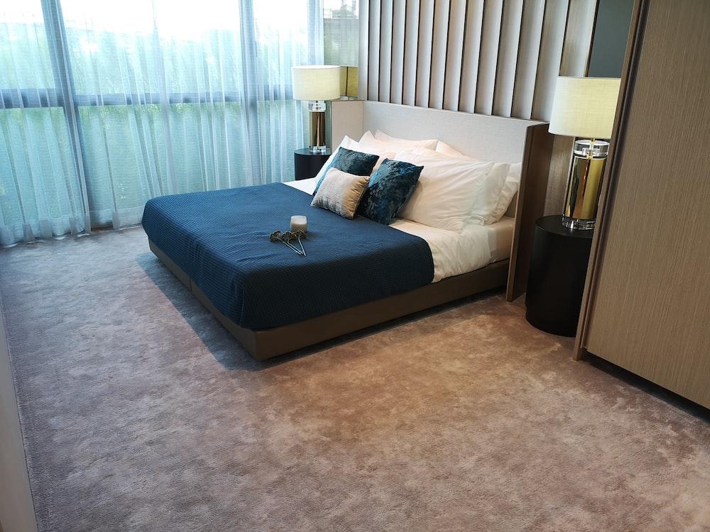mattress near window