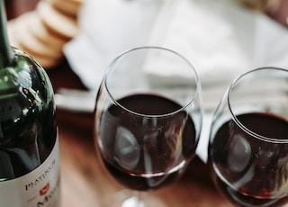 clear wine glasses
