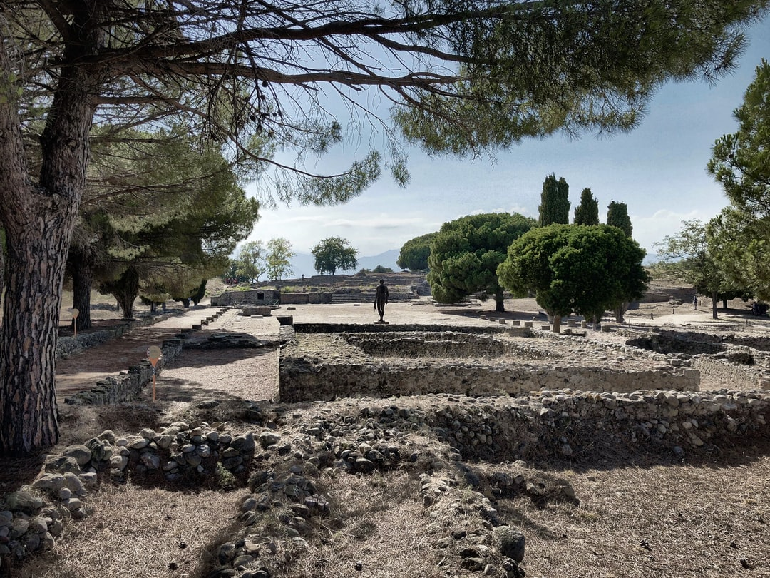 Site archéologique d'Aléria, Corse, France