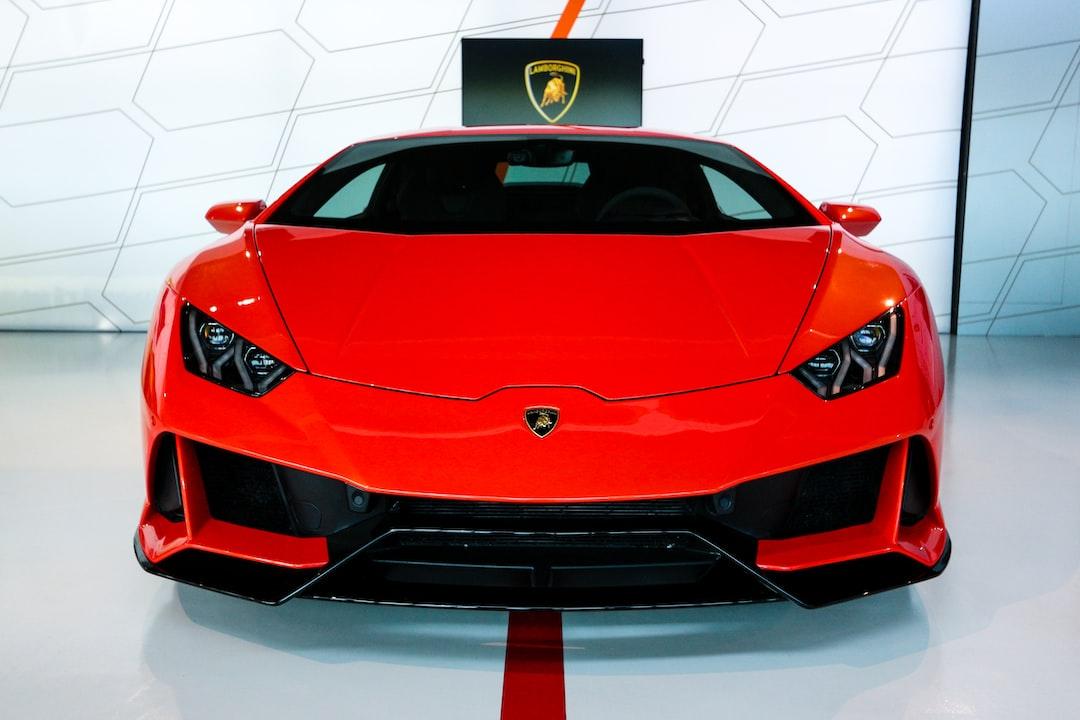 Red Lamborghini Car Photo Free Automobile Image On Unsplash