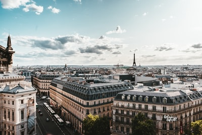 Paris from the top