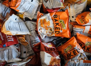 Cheetos Baked chip bag lot