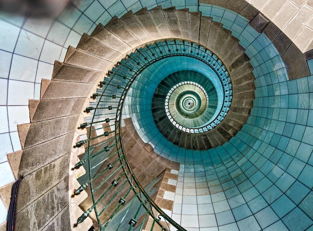 Ile Vierge Lighthouse, the tallest lightouse in the world, Bretagne, France