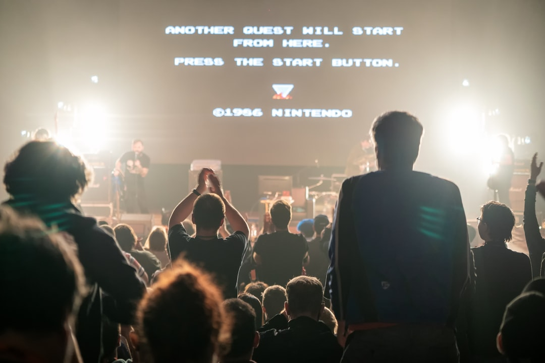 A video game concert standing ovation