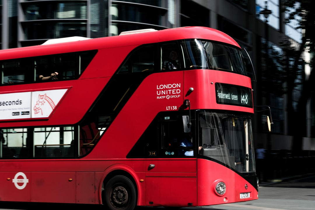 A panning attempt on a London bus.