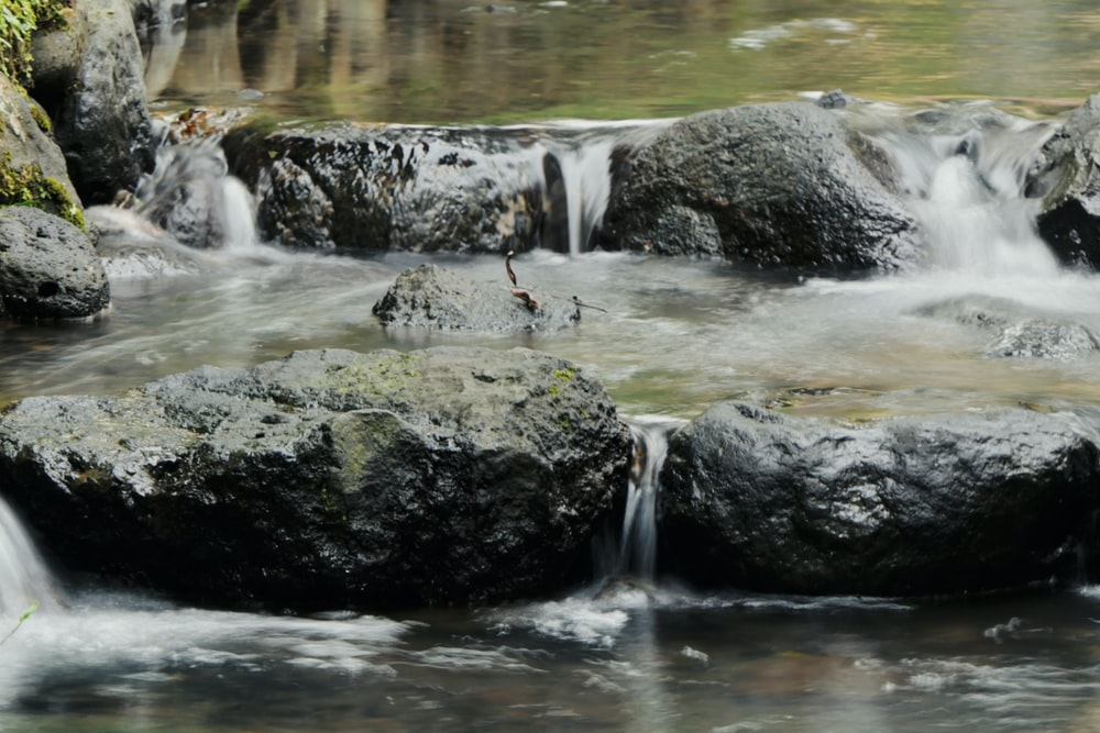 river and rocks view