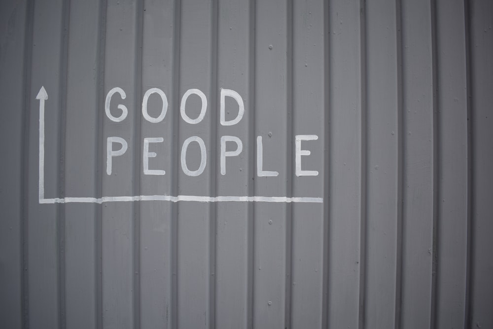 Good People text