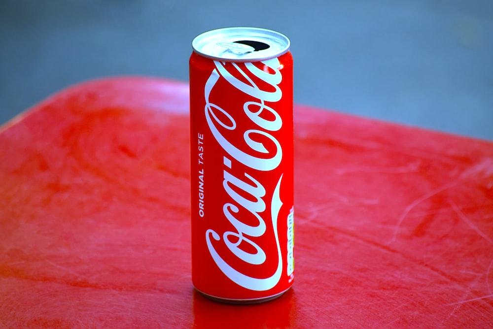 Coca-Cola soda tin can