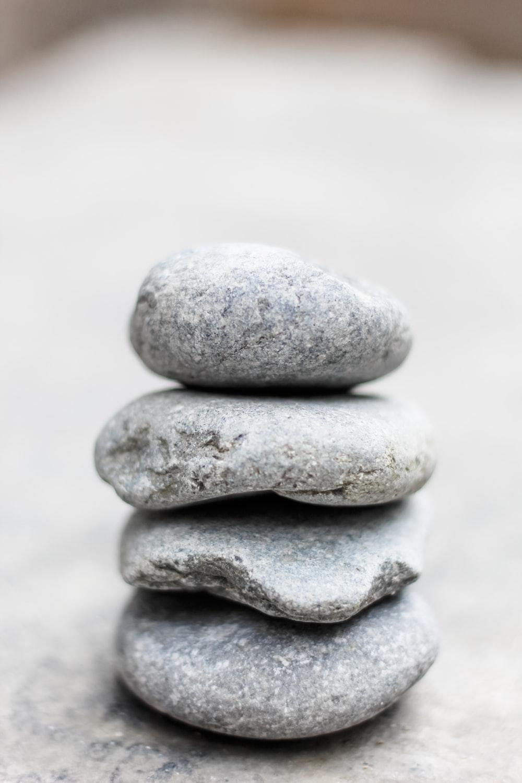 gray stack rock