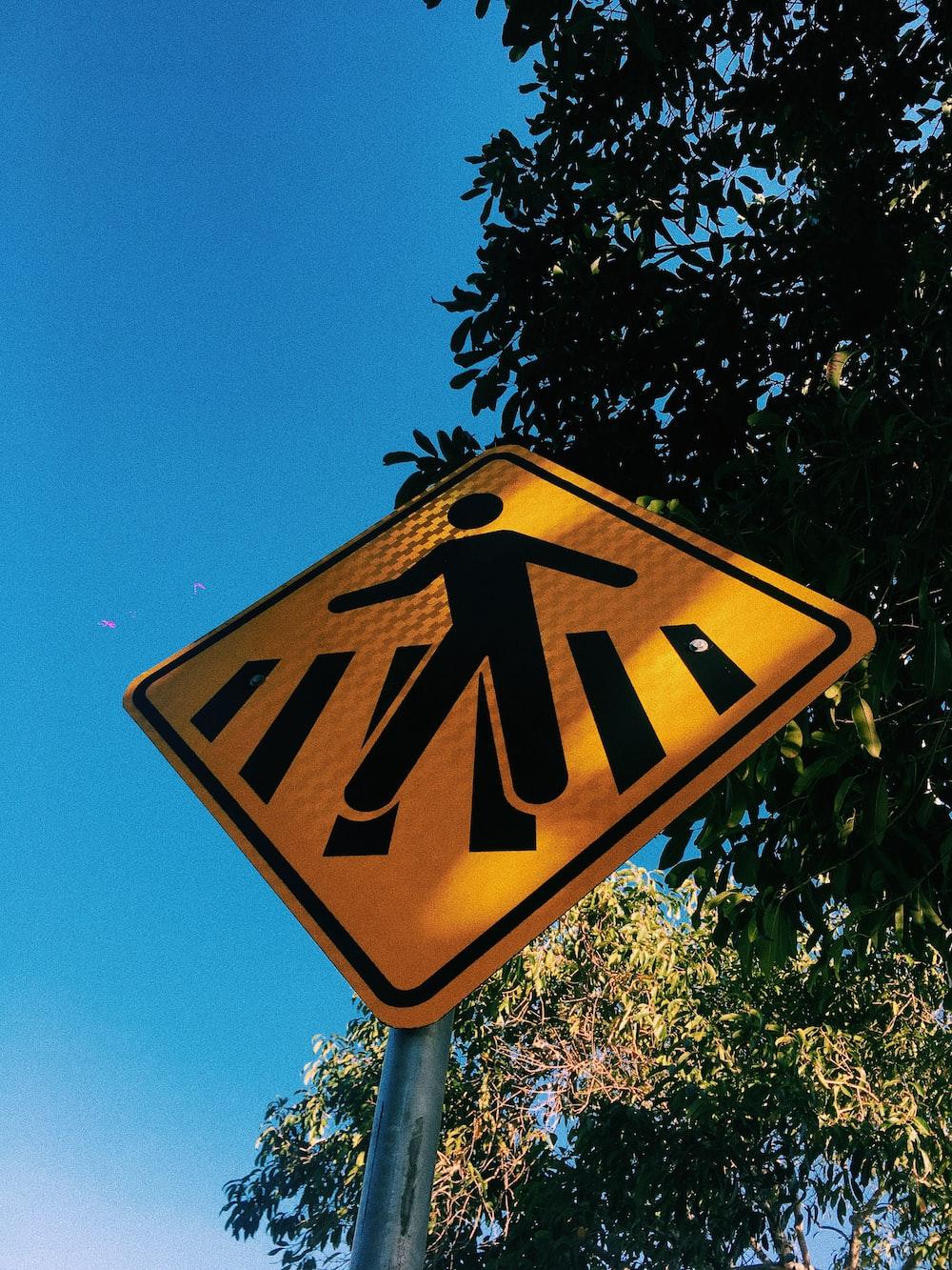 walking signage