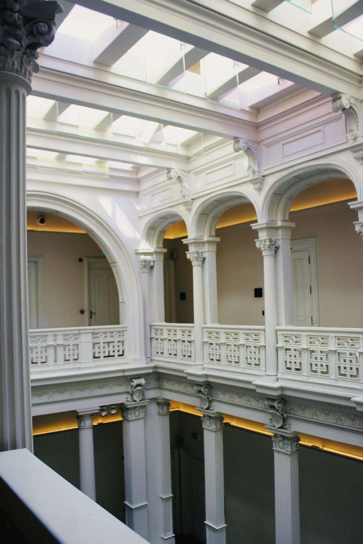 building with indoor balcony