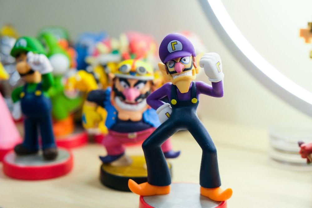 Super Mario characters