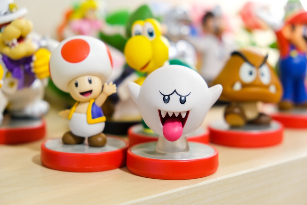 Smash Bros characters figurine collection