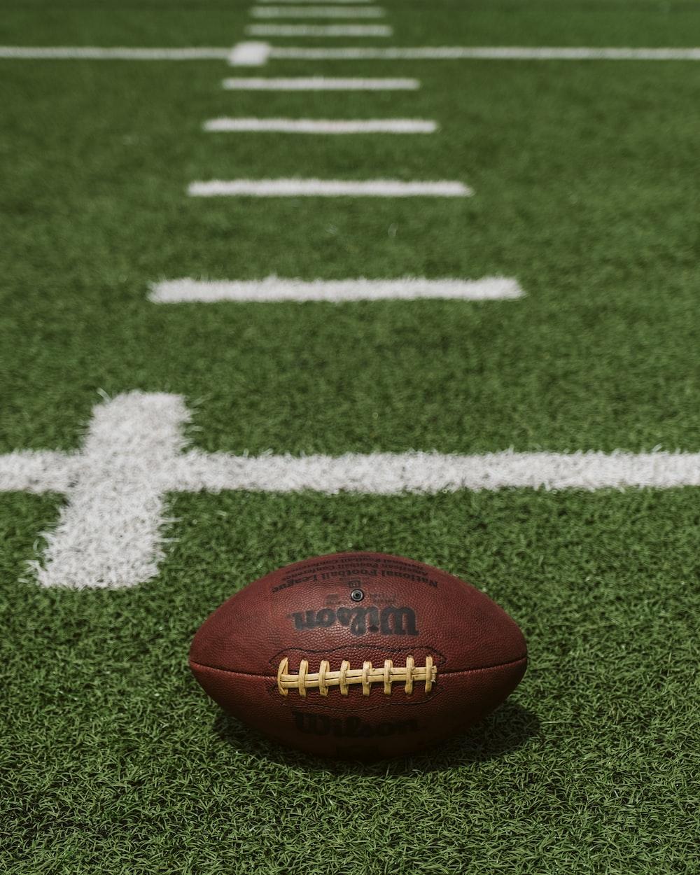brown Wilson football on field