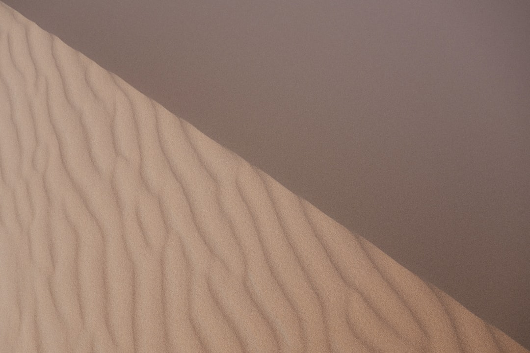 Dune crest in Moroccan Erg Chebbi