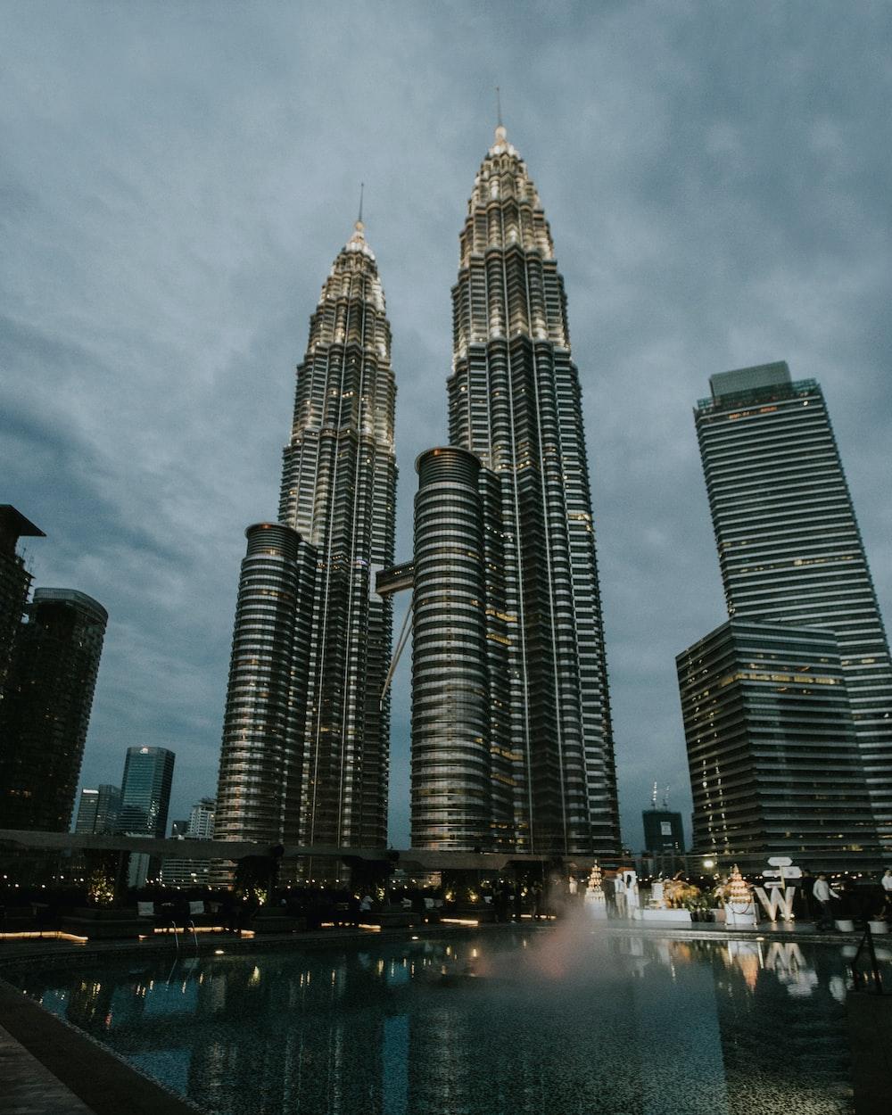Petronas Tower, Malaysia during night