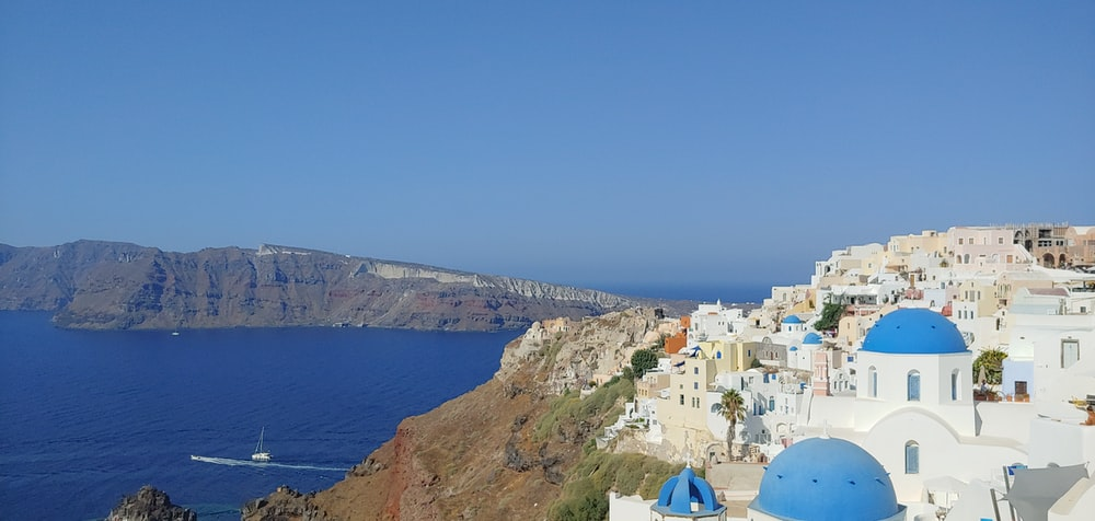 Santorini, Greece during daytime