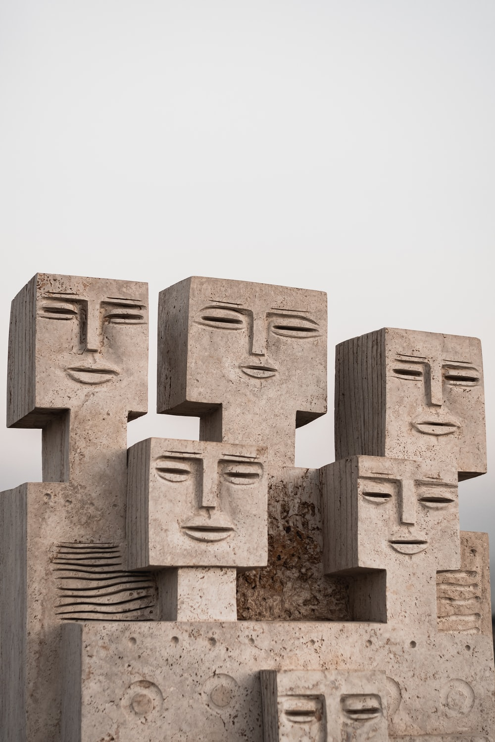 gray concrete statue during daytime