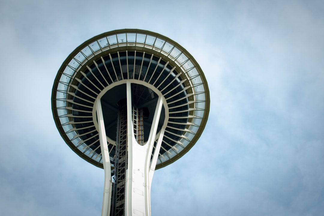 View close to the top.  Seattle.