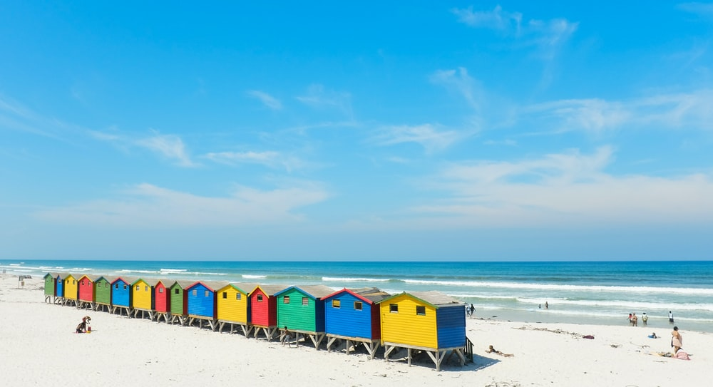 cottages near beach line