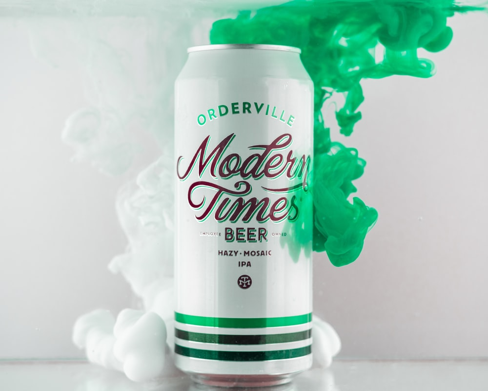 Moderm Times beer can